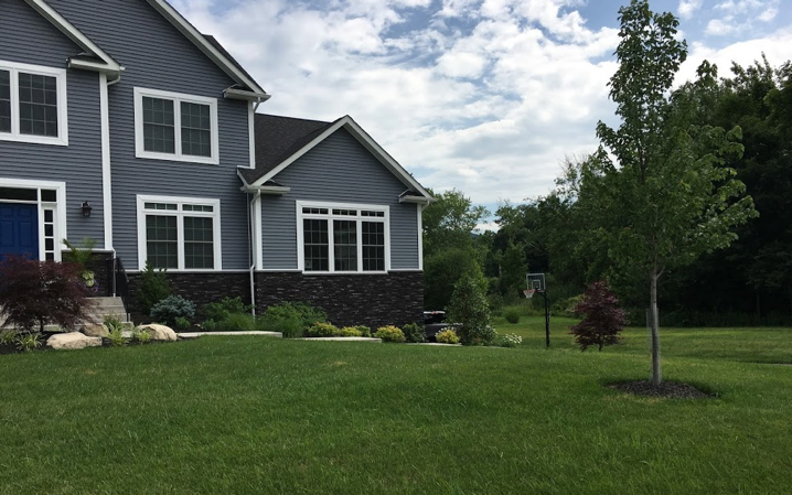 front yard landscape design and installation stony point ny