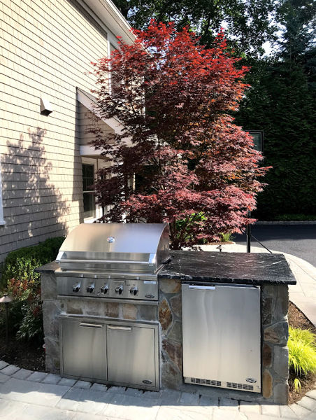 hardscape outdoor kitchen in ridgewood nj